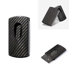 Carbon Fiber Men Fashion Business Name ID Credit Card Box Case Holder Fashion