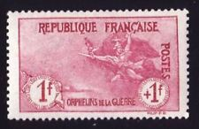 """FRANCE STAMP TIMBRE N° 154 """" ORPHELINS  LA MARSEILLAISE 1F + 1F """" NEUF xx LUXE"""