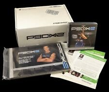 Complete Beachbody P90X2 Extreme Home Fitness DVD Set With Both Books, Brand New