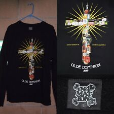 Men's IN4MATION 'Olde Dominion' Alcoholics Sweatshirt- Sz Large~ Black/White