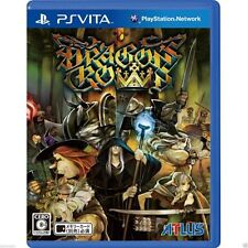 Dragon's Crown PS Vita SONY JAPANESE NEW JAPANZON