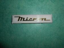 Logo capot moteur solex Micron à clipser