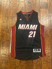 Adidas Miami heat Hassan Whiteside  NBA Jersey Men's size Small