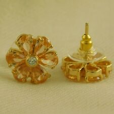 Desginer WeddingnGoldplated AD Stone Earring Traditional Stud Jewelry New Trendy