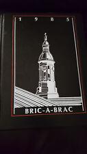 1985 PRINCETON UNIVERSITY YEARBOOK, THE BRIC-A-BRAC, PRINCETON, NJ