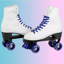 C7skates Soft Faux Leather Roller Skates, Christmas Gifts for Girls