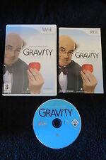 WII : PROFESSOR HEINZ WOLFF'S : GRAVITY - Completo, ITA ! Compatibile Wii U