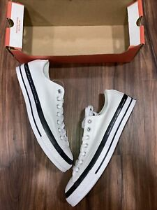CONVERSE CHUCK 70 x Fragment All Star x 7 Moncler Low White Size 10 (169070C)