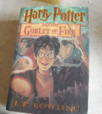 2000 First American Edition Book Harry Potter Goblet of Fire JK Rowling 1st Prin