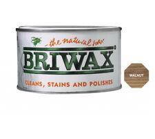 Briwax Walnut Furniture Wax Polish Wood Cleaner Restorer 400g Natural Paint Tin