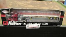 DCP#32452 HUNT TRANSPORT IH PROSTAR SEMI CAB TRUCK & 53' FLATBED TRAILER 1:64/FC