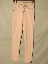 D8549 Aeropostale Pink Cool High Rise Jegging Pretty Little Jeans Women's 25x30