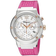 Ferragamo FIH020015 Women's F-80 Pink Quartz Watch
