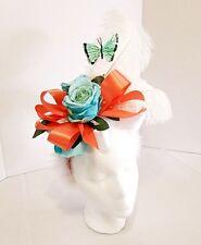 Disney Parks Alice in Wonderland Headband Flowers Butterfly ONE OF A KIND 🌹🌹