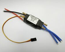 007B: 1x 30A Brushless ESC w/Water Cooling, Waterproof(Only Forward) for RC Boat