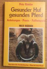 Fritz Rödder Gesunder Huf Gesundes Pferd