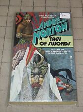 1978 TREY OF SWORDS By Andre Norton Good Condition PB Book - Ace Books