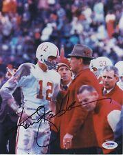 Ken Stabler #0   8x10 Signed Photo  W/ PSA DNA  Alabama Crimson Tide