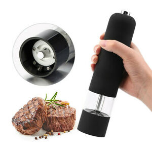 1x Cooks Professional Electric Salt and Pepper Mill Grinder Shaker Automatic AU