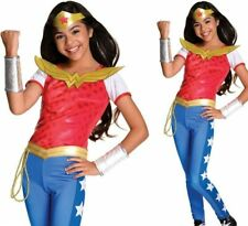 Rubie's Official DC Super Hero Girls Deluxe Wonder Woman Costume Size Small