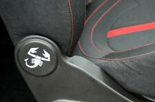 Abarth 500 595 Fiat 500 Scorpion seat sticker set.