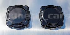 Vauxhall astra H Strut Cap Covers Plain Gloss black ABS SRI VXR