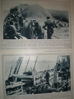 Photo article using a kite balloon for enemy spotting on a British war ship 1915