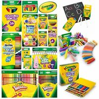Crayola Supertips, Markers, Crayons, Twistables, Pencils, Paint, Chalk and more!