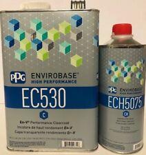 Ppg Envirobase Ec530 Clearcoat Ech5075 Hardener