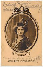 Anny Sylva, Soubrette/Singer, Germany, 1912 inside Germany