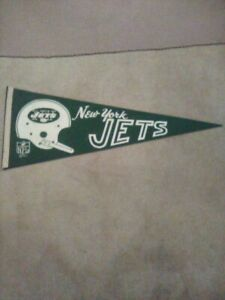 Vintage 1967 New York Jets Pennant