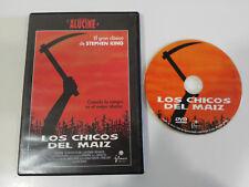 LOS CHICOS DEL MAIZ STEPHEN KING DVD + EXTRAS ESPAÑOL ENGLISH TERROR HORROR