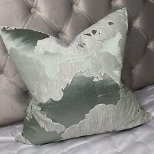 "Cushion Cover 20"" & John Lewis & Partners Komako Fabric , Mint"