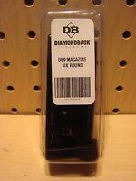 Factory Diamondback DB9 Magazine 9 mm 6 Round NEW