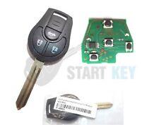 Nissan RC Key Versa Micra Note Juke NV200 434 MHZ Blank