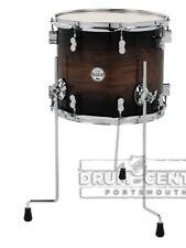 PDP Concept Exotic 12x14 Floor Tom : Walnut - Charcoal Burst