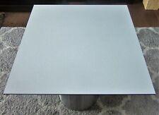 HPL Platte Tischplatte 8mm Pastel Grey beidseitig 780 x 744 mm TRESPA® Meteon®