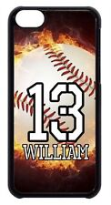 Personalized Name&Number Baseball Sport Back Case Cover For Apple iPod 4 5 6 New