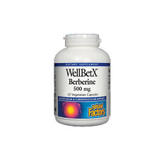 Natural Factors WellBetX Berberine, 60 Vegetarian Capsules