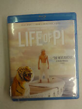 Life of Pi (Blu-ray/DVD, 2013, 2-Disc Set), Ang Lee, Used, Discs=Excellent
