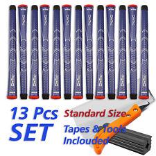 WINN DRITAC Set 13 Blau Golf Griffe Golf Grip + Tapes Standard Size+Tools