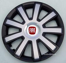 "Set of  4x14"" wheel trims to fit FIAT PUNTO"