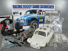 Tamiya 1/10 RC Sand Scorcher TBLE-02 ESC Tactic 2.4GHz Transmitter Partial built