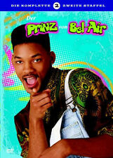 DER PRINZ VON BEL AIR / DIE KOMPLETTE 2. STAFFEL - (4 DVDs) *NEU*OVP
