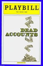 Playbill + Dead Accounts + Opening Night + Norbert Leo Butz , Katie Holmes