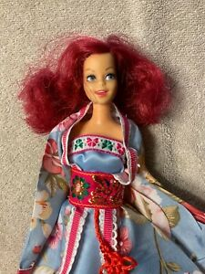 Vintage hybrid  rerooted Casey doll with outfit
