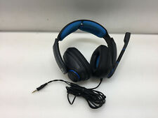 Sennheiser GSP 300 Gaming Headset with Noise-Canceling Microphone, Black & Blue