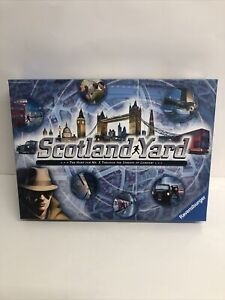 RAVENSBURGER SCOTLAND YARD GAME FAMILY GAMES NIGHT HUNT FOR MR X IN LONDON NEW