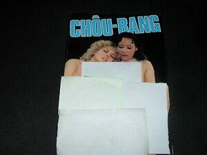 CURIOSA ROMAN-PHOTOS (CHOU-BANG)  années 80 ; 140 pages env   TRES BON ETAT