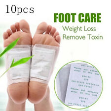 10X Kinoki Detox Foot Pads Patches Body Toxins Feet Slimming Cleansing Herbal CN